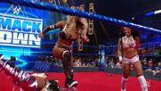 Sasha Banks returns to help Bianca Belair neutralize Zelina Vega and Carmella: SmackDown, July 30, 2021