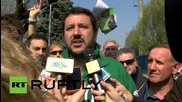 Italy: Tsipras has done well to meet Putin, says Lega Nord's Salvini
