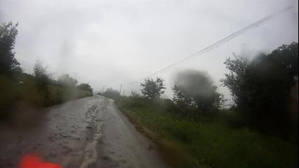 Малко да се повозя след падането... Honda Cr 125 Gopro Hd