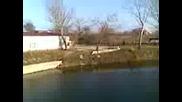 Мостът Над Тунджа В Одрин На Пътя Караагач