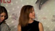 """Ема Уотсън и каста от """" The Bling Ring """" на пресконференция в Кан 2013 ( H D )"""