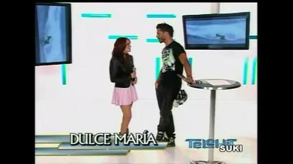 Dulce Maria en entrevista con Uriel del Toro