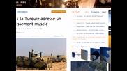 Вероятната война между Сирия и Турция е водеща тема в международните издания