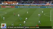 22.06.2010 Нигерия - Южна Корея 1:0 Гол на Калу Уче - Мондиал 2010 Юар