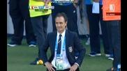 Италия 0:1 Уругвай (бг аудио) Мондиал 2014