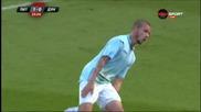 Атрактивната радост един млад български футболист
