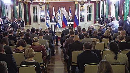 Russia: Putin and Netanyahu tout ties on Israeli PM's Moscow visit