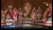 4minute - Hot Issue [sbs Inkigayo 090712]