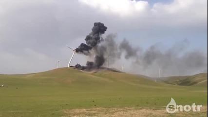 Ветрогенератор Се Запалва