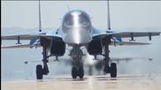 Русия изтегли първите си самолети от Сирия