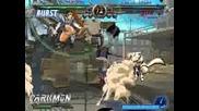Ggx Millia Rage vs Robot Ky