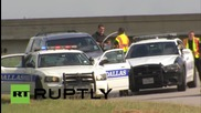 USA: Dallas on lockdown as suspect shot by police