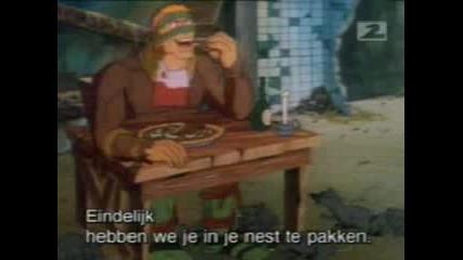 Tmnt - Pizza By The Shred (сезон 3, Еп.26)