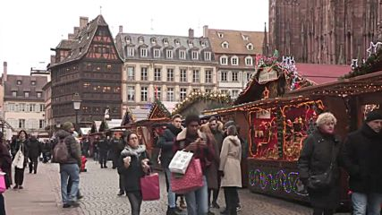 France: Tourists react as Strasbourg Christmas market reopens after deadly attack