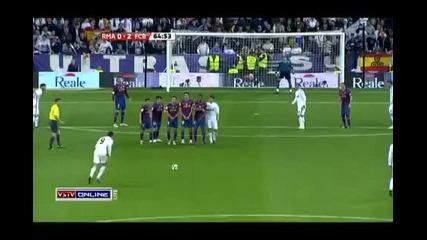 Cristiano Ronaldo vs Fc Barcelona 2010 [home] *hd*