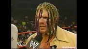 Jonathan Coachman Interviews Raven In The Ring - Wwe Heat 13.10.2002