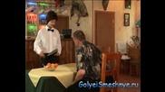 Голи И Смешни ( Скрита Камера ) - издънка в ресторанта