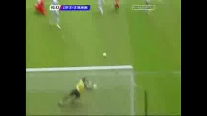 Liverpool Vs West Ham - Gerrard