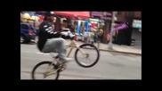 Ruffryders крал на уличното колоездене ! - Френска Каскадьорска Организация