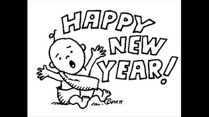 '''честита нова година ,,,-'''happy new year,,, + Дунавското хоро