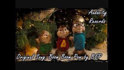 Boom Boom Pow - Black Eyed Peas Chipmunk Hd