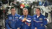 ISS: Russian ISS crew give 'happy New Year' wishes