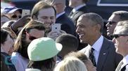 President Obama Visits Nike Headquarters