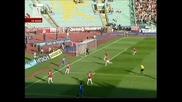 Левски спря Цска! Левски - Цска 1-0 29.04.2012