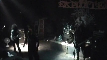 The Exploited - 2009 Live in Curitiba Part 1
