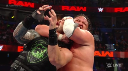 Roman Reigns vs. Samoa Joe: Raw Reunion, July 22, 2019