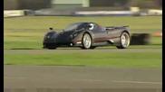 Bugatti Veyron И Pagani Zonda F + Стиг - Битката Сред Големите