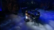 Miley Cyrus - When I Look At You Live - American Idol 2010