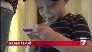 Двегодишно дете спаси майка си със смартфон