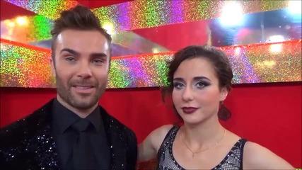 Dancing Stars - Антон и Дорина за уроците по Танго и тези в живота (13.05.2014г.)