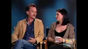 Robert Knepper and Jodi Lyn O`keefe interview (buddy Tv)