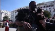 Greek: Watch the wacky 'Bell Wearers' parade through Thessaloniki