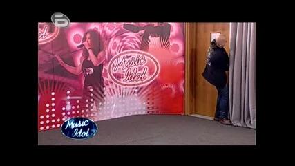 Music Idol 3 - Дони Се Бъзика С Участник