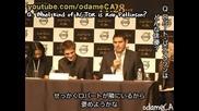 New Moon Japan press conference - Robert Pattinson and Chriz Weitz