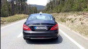 Mercedes Cls500 start-up + acceleration + sound
