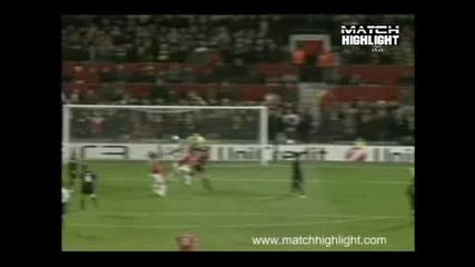 Манчестър Юнайтед - Милан 4:0 Гол На Уейн Рууни