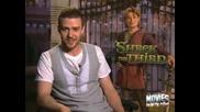 Justin Timberlake - Mtv Movie News Scooby Impressio
