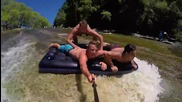 Най-епичната натурална водна пързалка