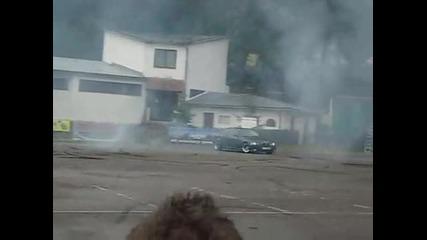 Bmw E36 Burn out