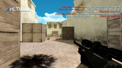 Xperia Play 2011: Fyrr73 vs Pulsive! ( Counter - Strike 1.6 )
