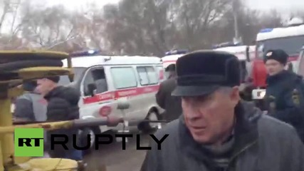 Russia: At least two dead in Omsk crane collapse