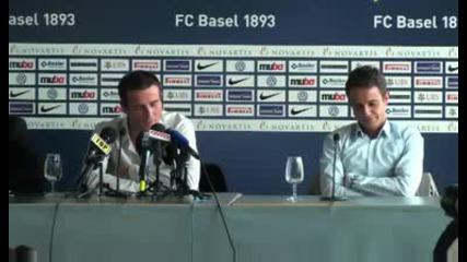 Александър Фрай се завърна в Базел