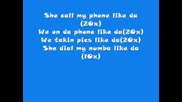 Kiss Me Through Tha Phone - Soulja Boy Ft Sammie + text :p