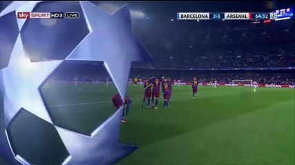 Суарес заби гола на сезона! Вижте по какъв начин уругваеца нокаутира Арсенал!
