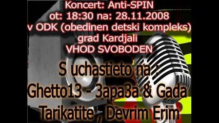 Reklama 28.11.2008 Koncert (anti - Spin)