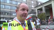 Germany: Munich welcomes refugees at its main station